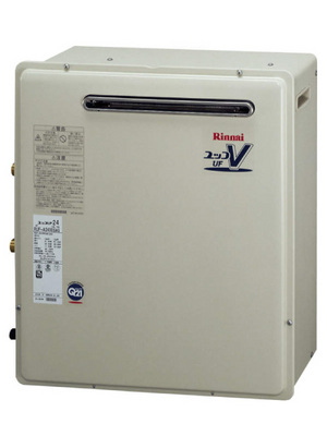 送料無料!問屋価格に挑戦の激安価格! (LPG用)リンナイ RUF-A2400SAG(A) セットリモコン:MBC-120V(T) 据置設置 オートタイプ 24号
