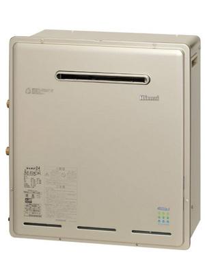 【リンナイ】【RUF-E2008SAG(A)】【リモコンセット】追焚き付給湯器|20号|エコジョーズ|据置設置|オートタイプ|セットリモコンMBC-320V(T)