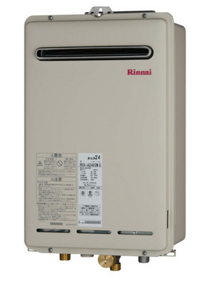 【リンナイ】【RUX-A1615W-E】給湯専用|16号|従来型給湯器|壁掛・ベランダ設置・PS標準設置|※リモコンは付きません