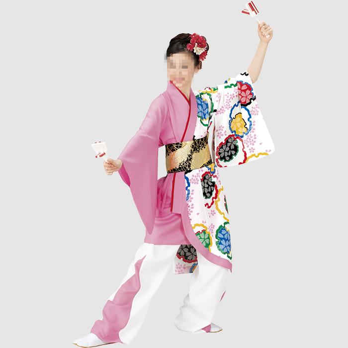 よさこい衣装 よさこいコスチューム(レディース)   お祭天国 きぬずれ踊衣裳