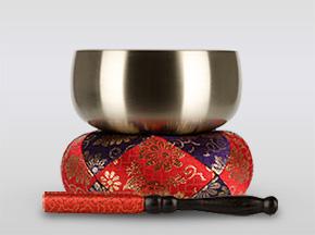 瑞竜りん 3.5寸(直径約10.5cm)おりん・おりん座布団・りん棒セット