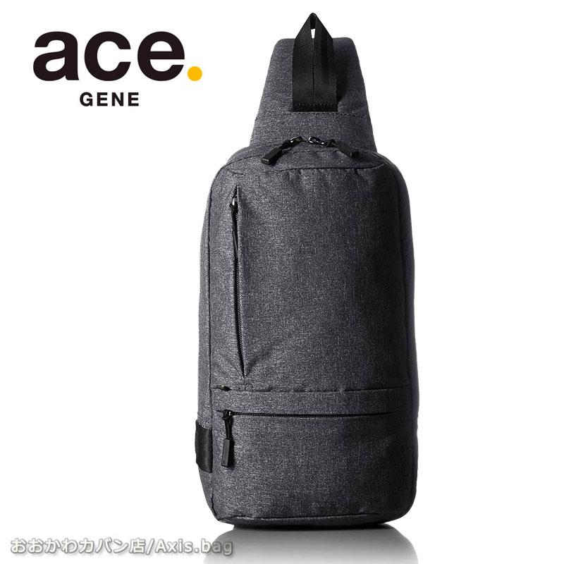 エースジーン ace.GENE ボディバッグ ワンショルダーバッグ 5L ホバーライト HOVERLITE 59001