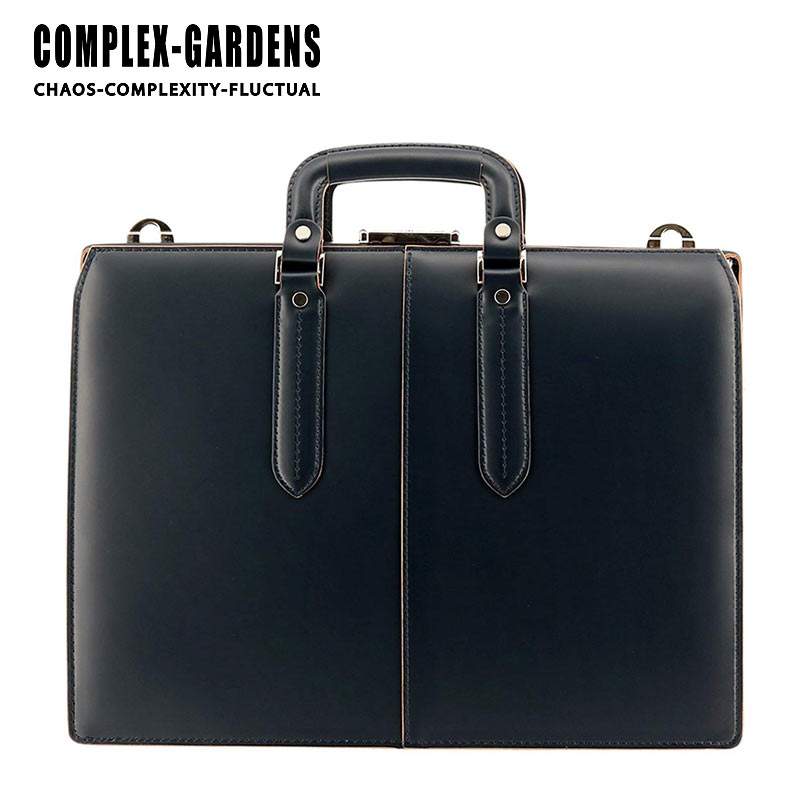 青木鞄 コンプレックスガーデンズ COMPLEX GARDENS 2WAY ダレスバッグ ビジネスバッグ 40cm A4サイズ 口枠付き 枯淡 コタン 3684