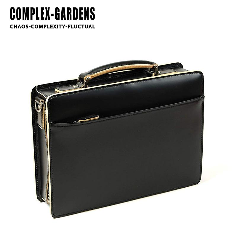 青木鞄 コンプレックスガーデンズ COMPLEX GARDENS 2WAY ビジネスバッグ ショルダーバッグ 口枠付き 30cm B5対応 3方開き 枯淡 コタン 3685