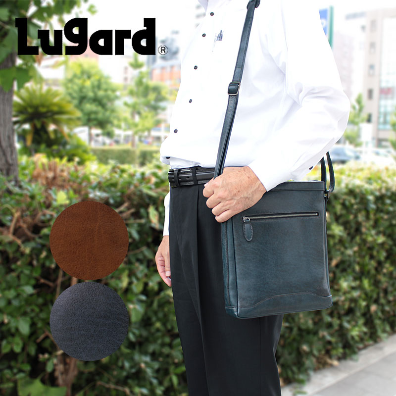 青木鞄 ラガード Lugard 縦型 ショルダーバッグ G3 5226