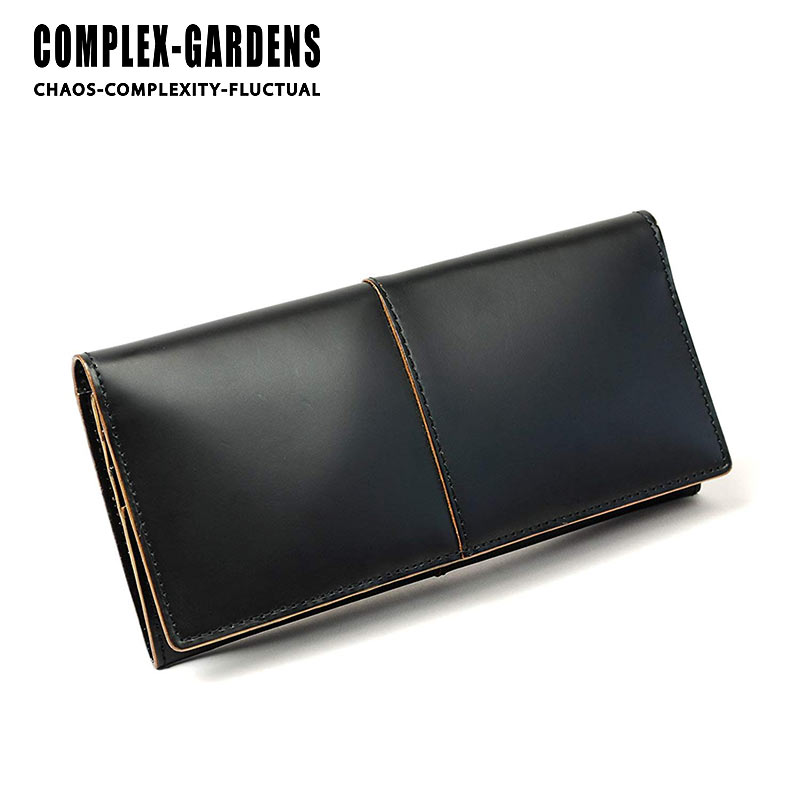 青木鞄 コンプレックスガーデンズ COMPLEX GARDENS ファスナーポケット付長財布 財布 枯淡 コタン 3698