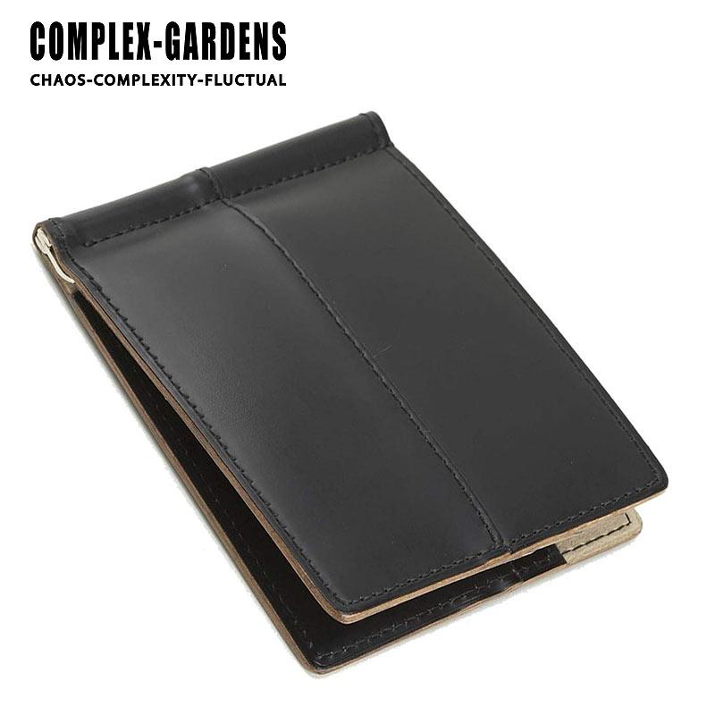 青木鞄 コンプレックスガーデンズ COMPLEX GARDENS 札バサミ マネークリップ 枯淡 コタン 3699