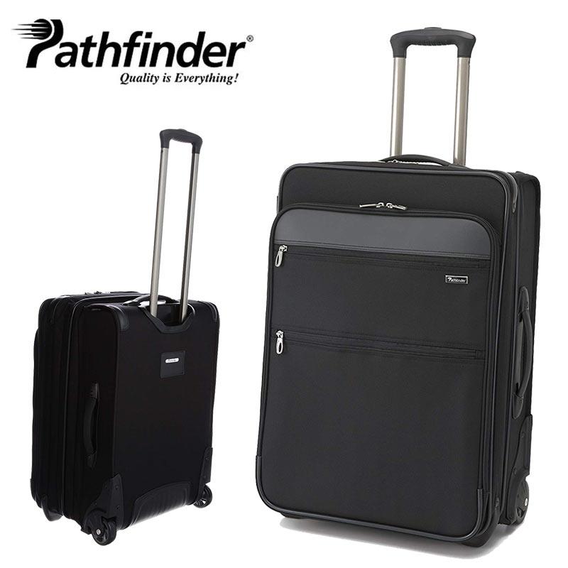 【数量限定/Pathfinderエコバッグプレゼント】スーツケース パスファインダー Pathfinder 2輪 キャリーケース トローリーケース スーツケース PF6824DAXB ラッピング不可