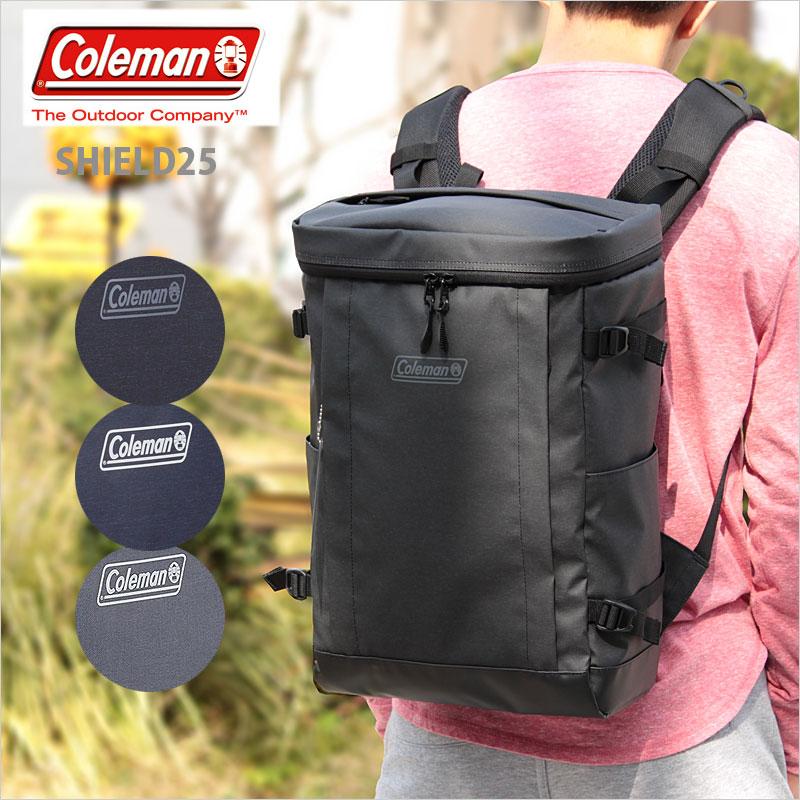 コールマン Coleman スクエア型リュックサック リュック 25L シールド25 シールド SHIELD25