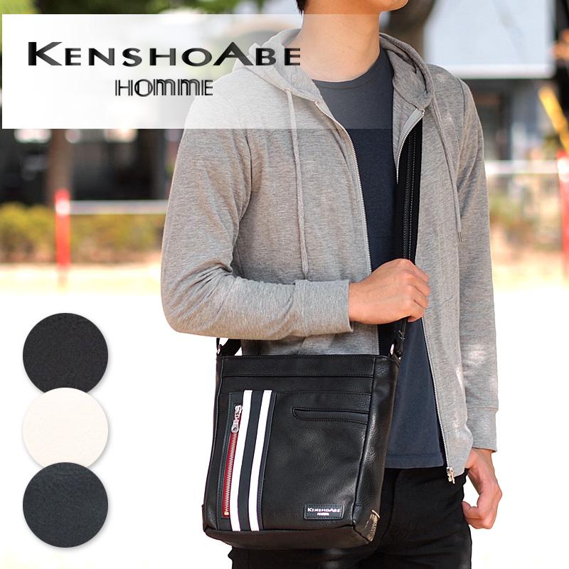 ケンショウアベ KENSHO ABE 縦型 ショルダーバッグ ブレット タブレット収納 4393