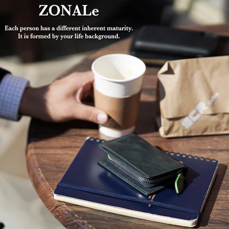 ゾナール ZONALe キーチェーン付きマルチケース グライ GLEY 31022