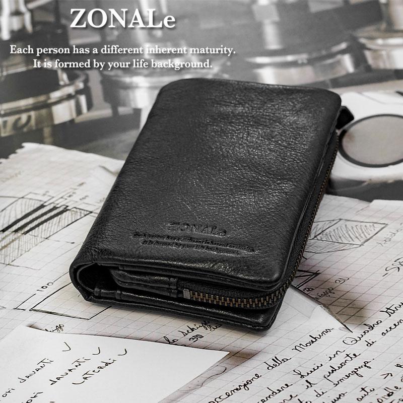ゾナール ZONALe 縦型二つ折り財布 コモド COMODO 31032