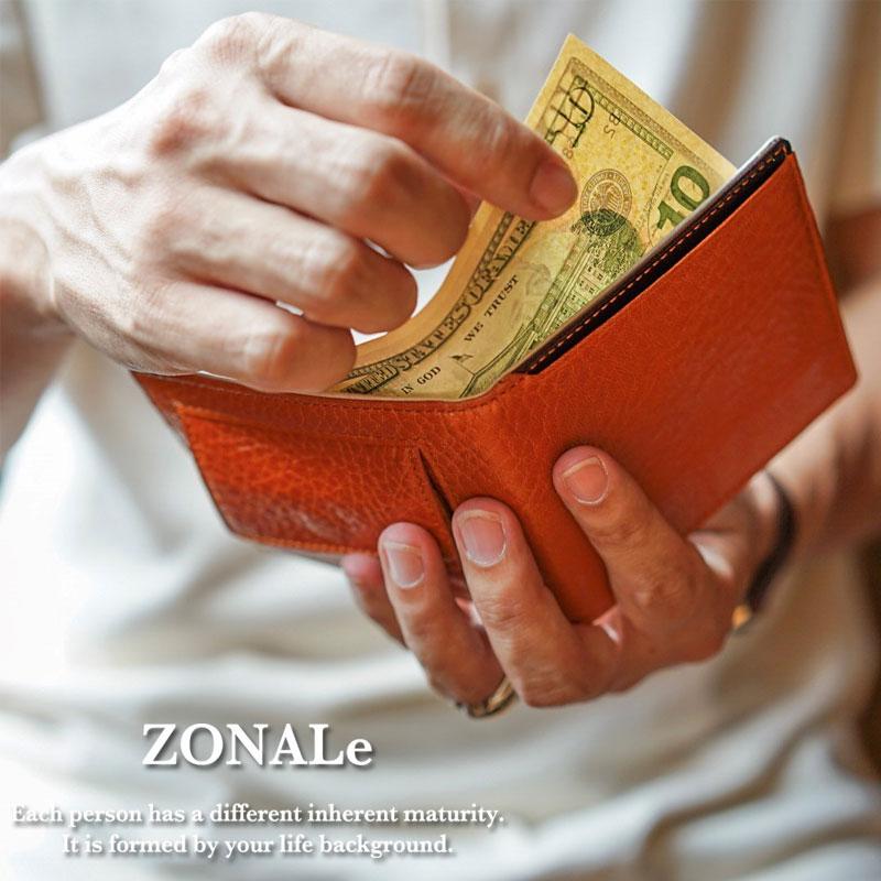 ゾナール ZONALe イタリアンレザー札ばさみ アンディ ANDY 31132