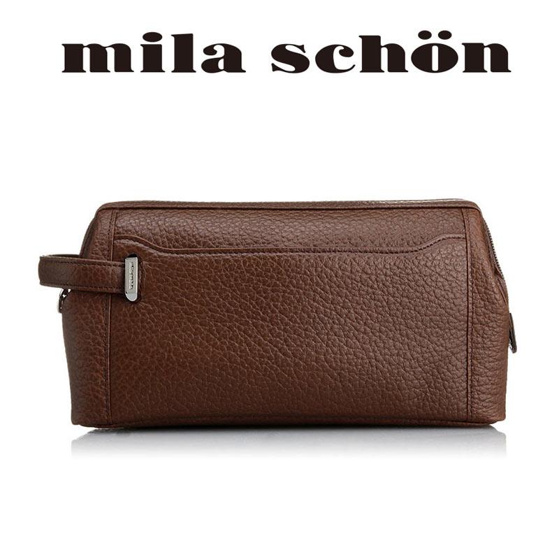 ミラショーン mila schon セカンドバッグ25cm Nero ネロ 197207
