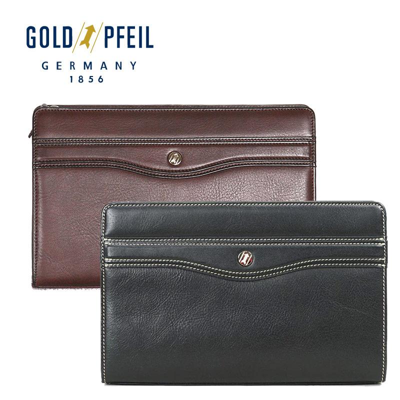 ゴールドファイル GOLDPFEIL セカンドバッグ ストラップ取り付け可能 オックスフォード 901206