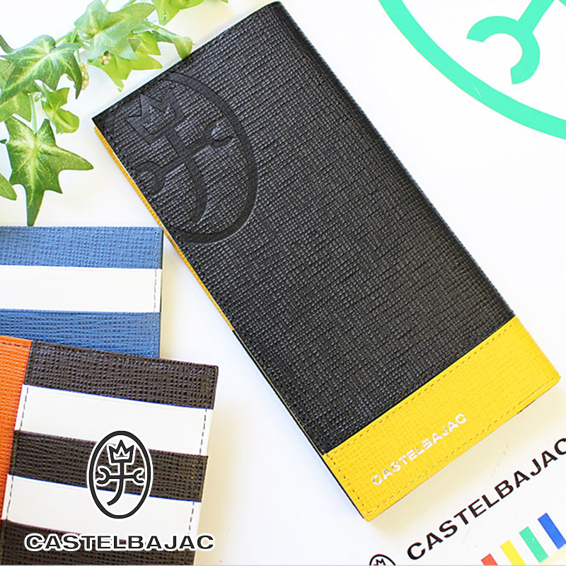 カステルバジャック CASTELBAJAC 縦型 長財布 財布 アルル 067603