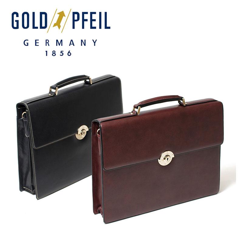 ゴールドファイル GOLDPFEIL ビジネスバッグ A4対応 カブセ式 2WAY 2ルーム オックスフォード 901503