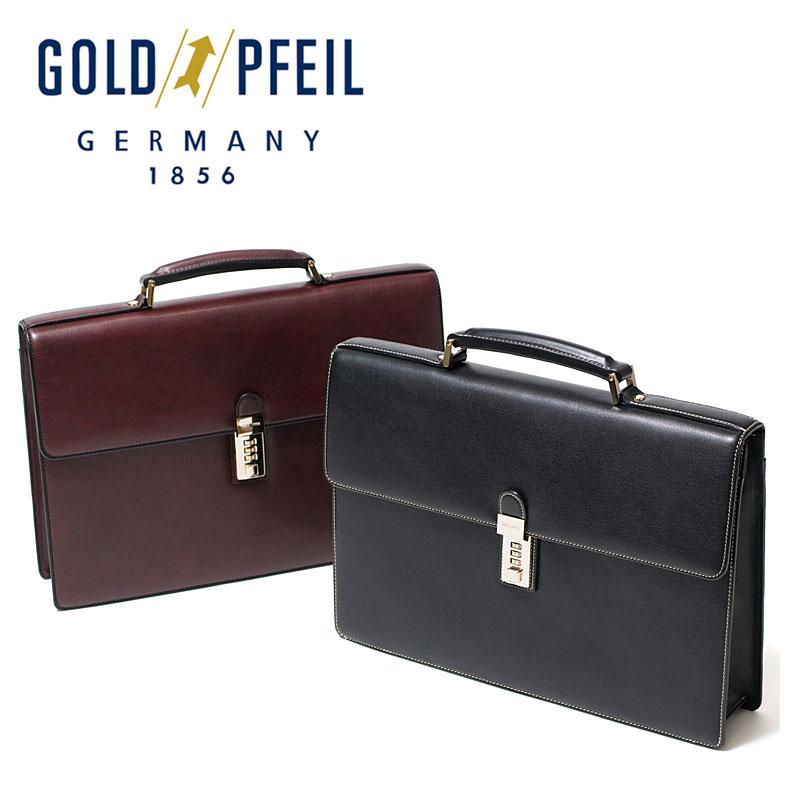 ゴールドファイル GOLDPFEIL ビジネスバッグ A4対応 カブセ式 オックスフォード 901508