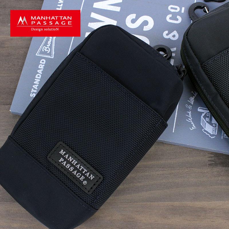 MANHATTAN PASSAGE マンハッタンパッセージ #MP-85M モバイルポーチ【メール便配送商品/ラッピング不可】ビジネス メンズ ブランド マルチケース 付属