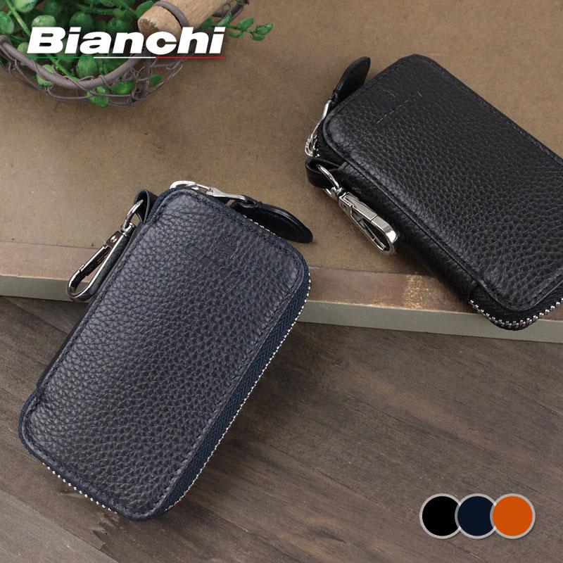 ビアンキ BIANCHI キーリング付き6連キーケース DEFI デフィー BIC1008
