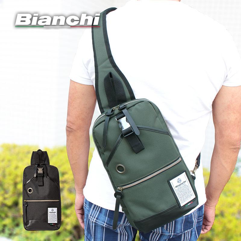 ビアンキ Bianchi ボディバッグ ワンショルダーバッグ タブレット収納 ディバーゼ DIBASE NBTC10A