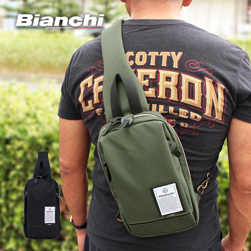 ビアンキ Bianchi ボディバッグ ワンショルダーバッグディバーゼ DIBASE NBTC71a