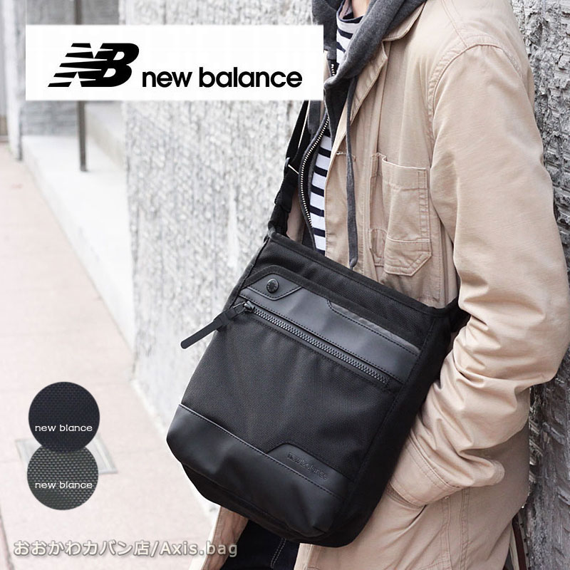 NewBalance ニューバランス 縦型ショルダーバッグ ESSENCIAL JABL9765