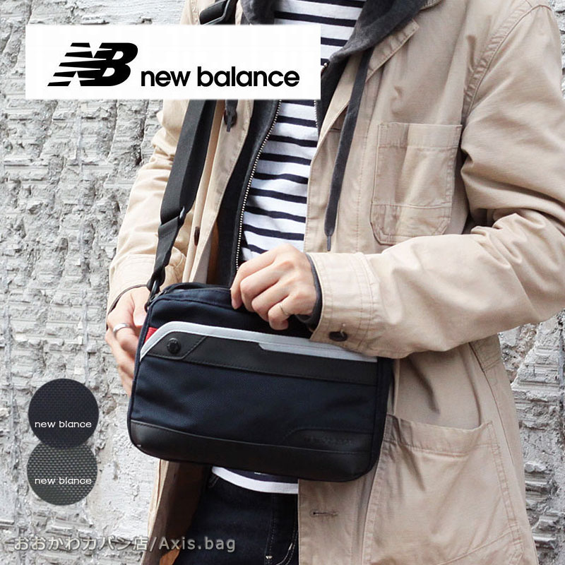 NewBalance ニューバランス 横型ショルダーバッグ ESSENCIAL JABL9766