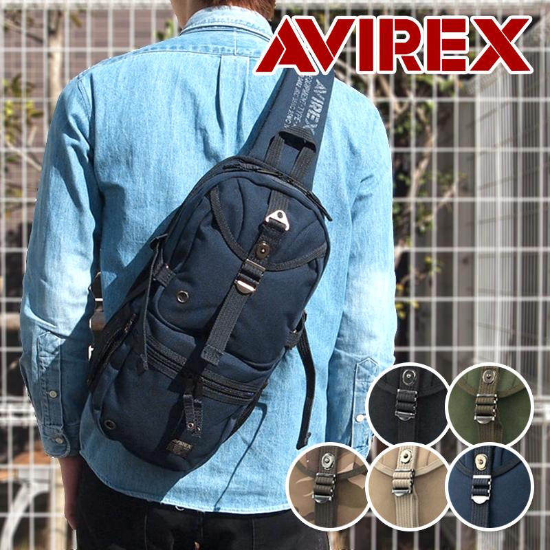 アビレックス アヴィレックス AVIREX ワンショルダーバッグ ボディバッグ EAGLE イーグル AVX305