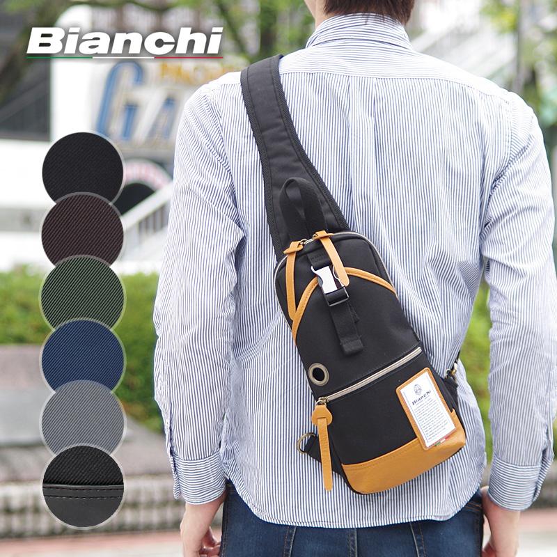 ビアンキ Bianchi ボディバッグ ワンショルダーバッグ ディバーゼ DIBASE NBTC01