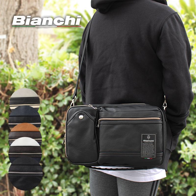 ビアンキ Bianchi 3WAYショルダーバッグ ボディバッグ クラッチバッグ Maestosita マエストシータ TBPI06