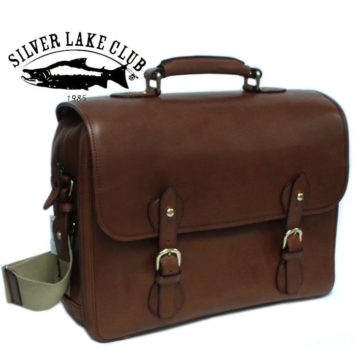 シルバーレイククラブ SILVER LAKE CLUB 2WAYショルダーバッグ A4サイズ 牛革オイルレザー 130173