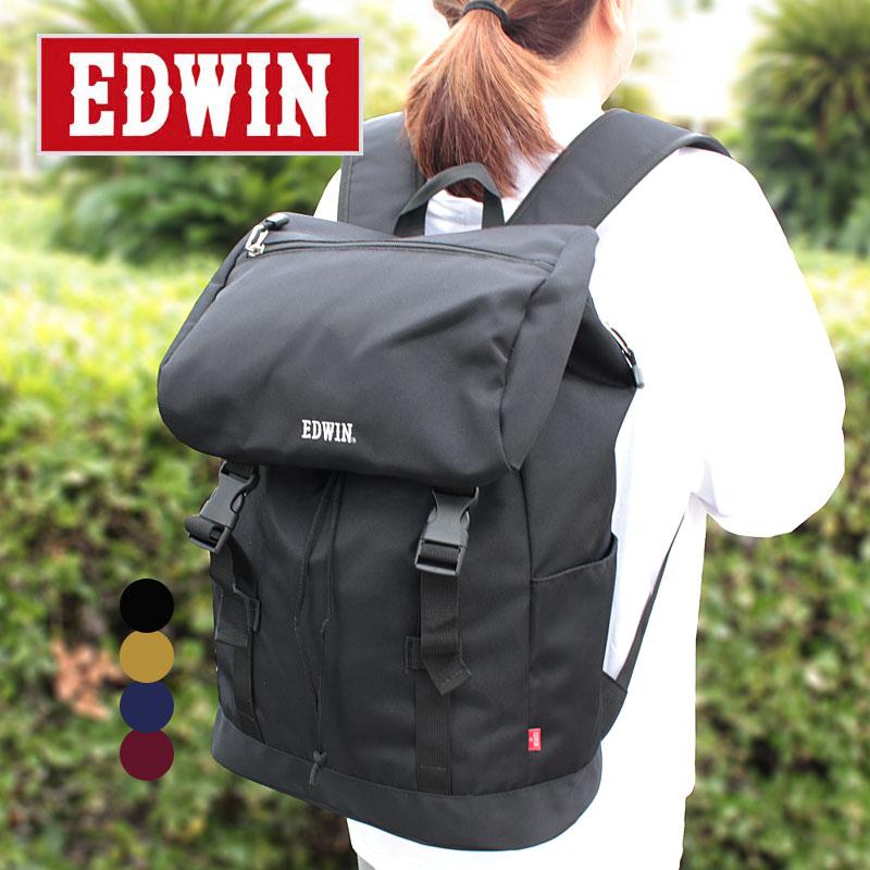 EDWIN エドウィン フラップリュック リュックサック 0411384