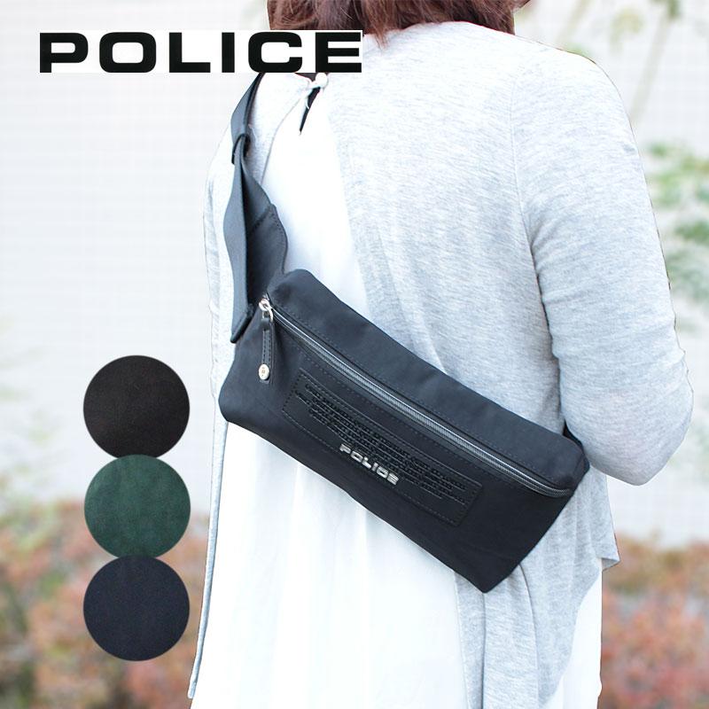 ポリス POLICE ボディバッグ ウエストバッグ CRESPA クレスパ PA-64000