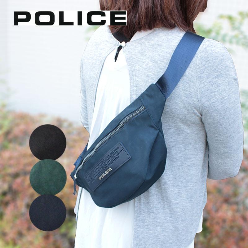ポリス POLICE ボディバッグ ウエストバッグ CRESPA クレスパ PA-64001