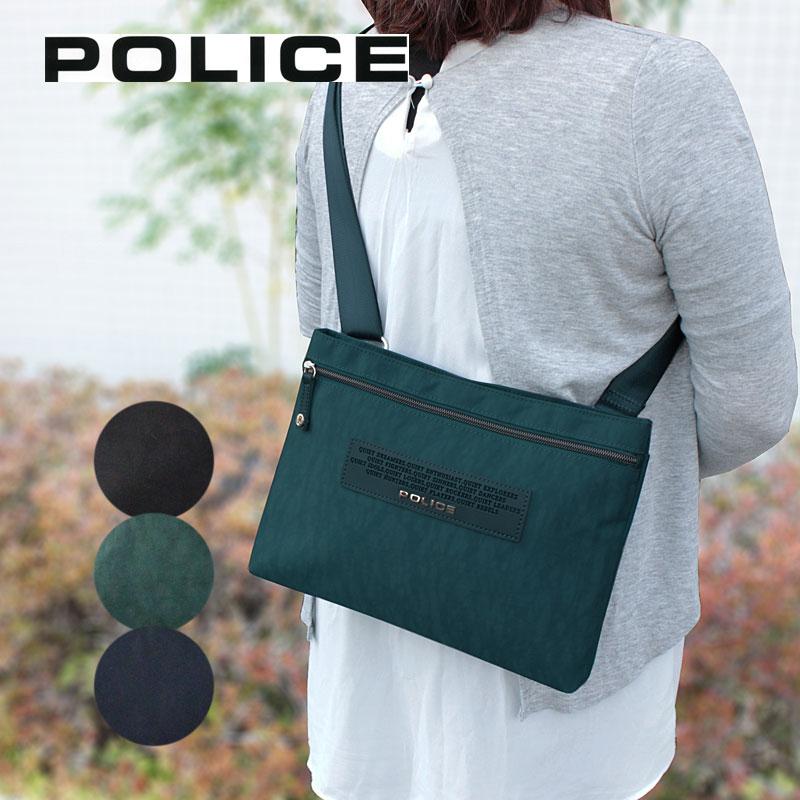 ポリス POLICE 横型 ショルダーバッグ CRESPA クレスパ PA-64002