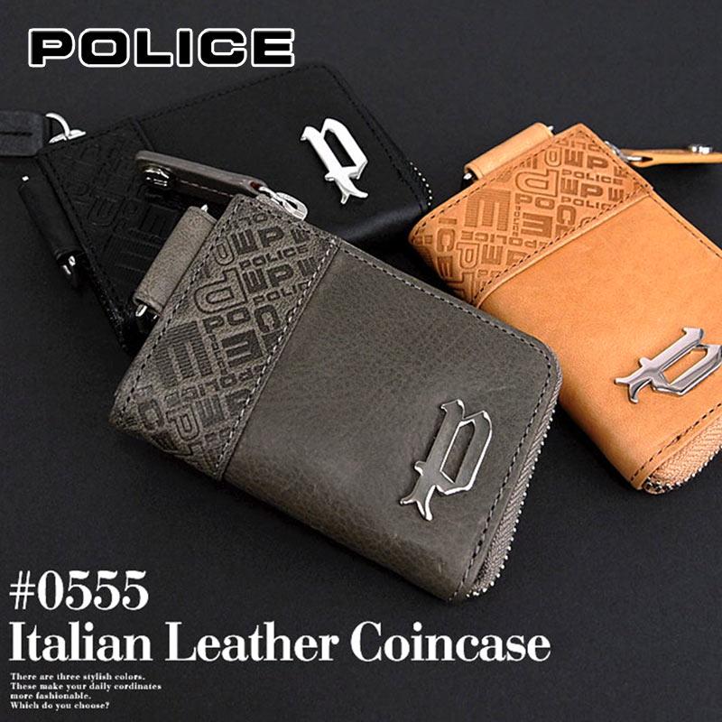 ポリス POLICE コインケース 小銭入れ イタリアンヌメ 財布 財布 小物 PA-6101