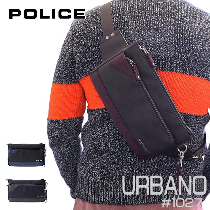 ポリス POLICE ボディバッグ URBANO アルバーノ PA-62001