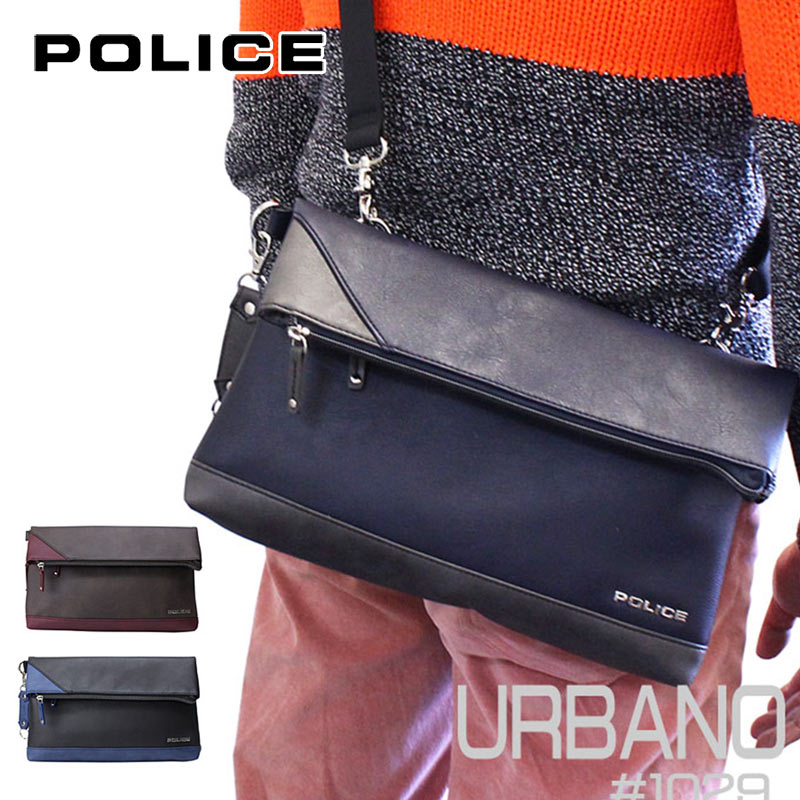 ポリス POLICE クラッチバッグ ショルダーバッグ URBANO アルバーノ PA-62003
