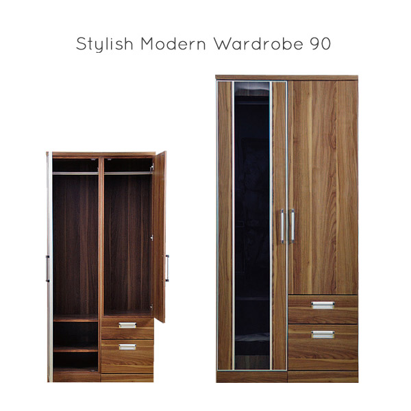 Hanging Wardrobe Western Closet Fashionable Wooden Chest Of Drawers Width 90 Clothes Anese Style