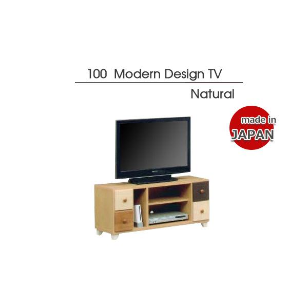 テレビ台 テレビボード ローボード 幅101cm 高さ46cm 桐材 日本製 ナチュラル