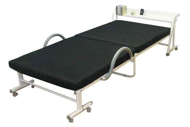 ベッド 大川家具 折りたたみベッド アウトレット シングルベッド