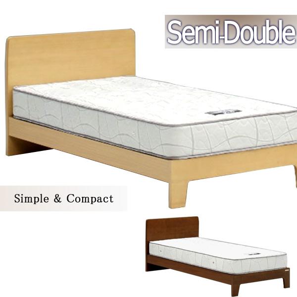 ベッド セミダブルベッド すのこベッド フレームのみ 北欧モダン