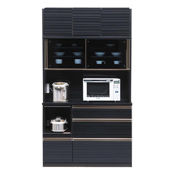 キッチン収納家具 カウンター 開梱設置 ダストボックス 木製 120 キッチンカウンター コンセント付き