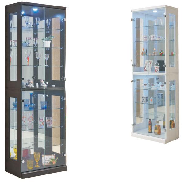 コレクションボード キュリオケース 幅65 完成品 サイドボード フィギュアラック 北欧ティスト シンプル モダン 飾り棚