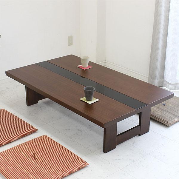 北欧モダン リビングテーブル センターテーブル ローテーブル 幅135cm ウォールナット突板 スモークガラス 角枠脚 木製 135 北欧 モダン シンプル シック オシャレ 木製 木目 送料無料 ワンルーム 一人暮らし 新生活 1K