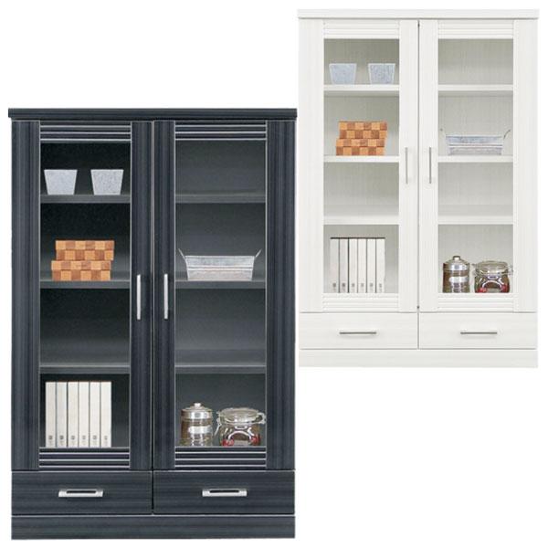 本棚 書棚 キャビネット 飾り棚 ブックシェルフ 木製 幅80cm ミドルボード 送料無料