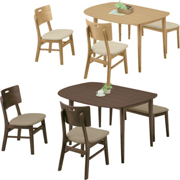 ダイニングセット 4点セット ダイニング4点セット 【送料無料】 4人用 ダイニングテーブルセット 幅130cm 食卓セット 食卓テーブル ダイニング セット シンプル モダン