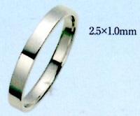 PT900 プラチナエンゲージリング 結婚指輪 平打無地リング ブライダルリング ファッションリング 手造りリング 送料無料