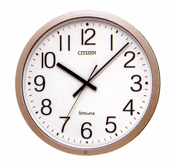 設備時計 無線式 親子時計 子時計 丸型 屋内用 シチズン 送料無料